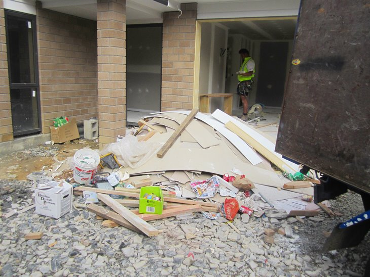 Builders waste removal services